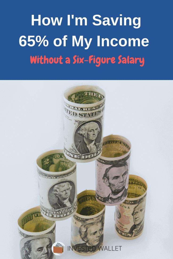 Saving 65% Income