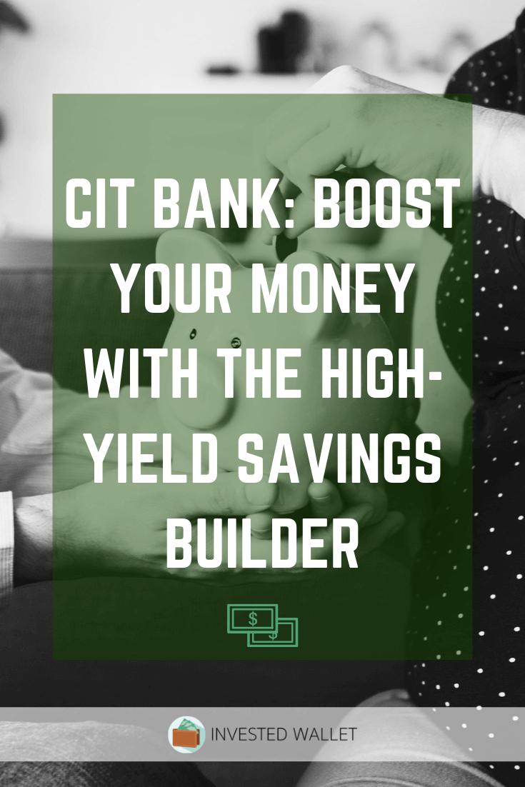CIT Bank Savings Builder