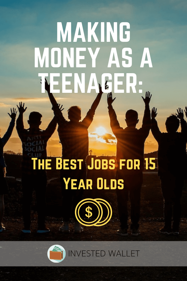 Best Jobs for 15 Year Olds