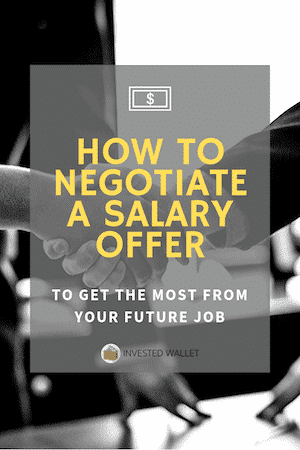 How to Negotiate A Salary Offer