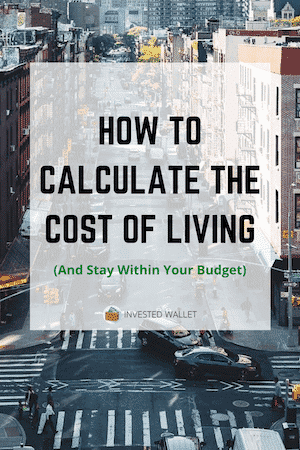 Calculate Cost of Living