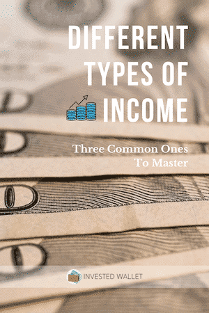 Different Types of Income