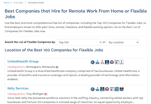 FlexJobs Job Search
