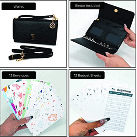 With You All-in-One Cash Budget System Wallet