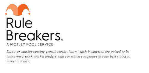 The Motley Fool's Rule Breakers.