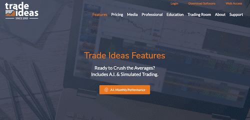 Trade Ideas Platform.