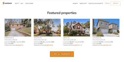 Roofstock website.