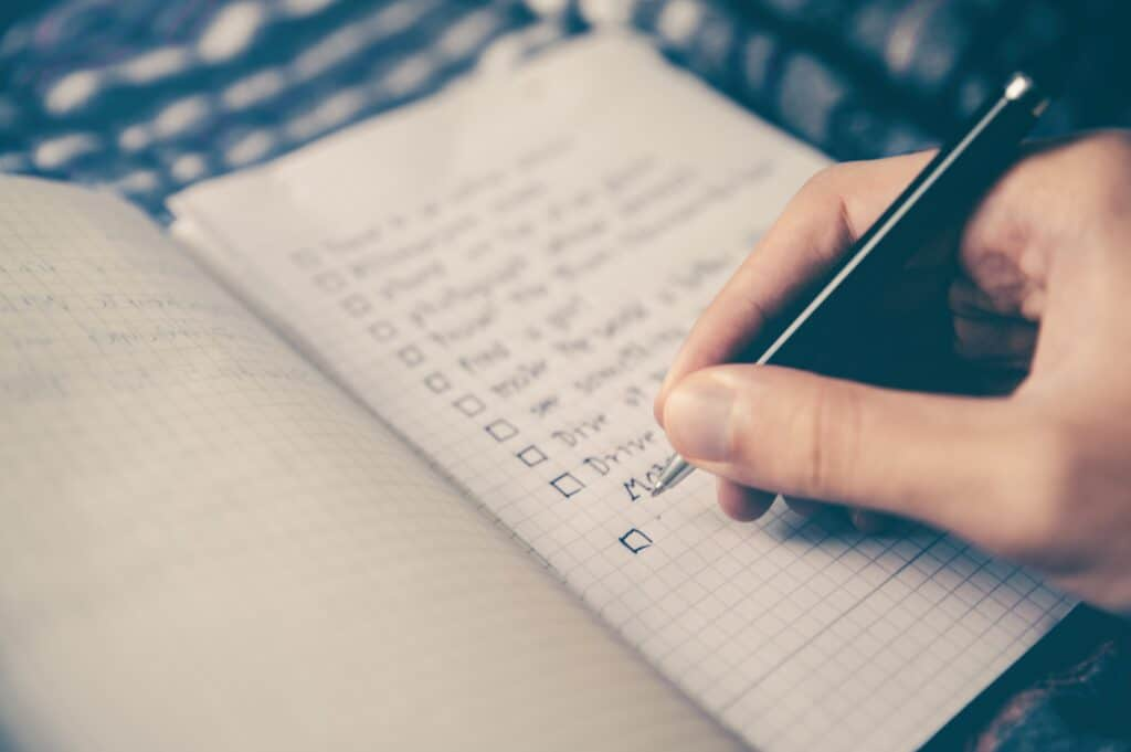 Don't Stress! Make a Travel Checklist