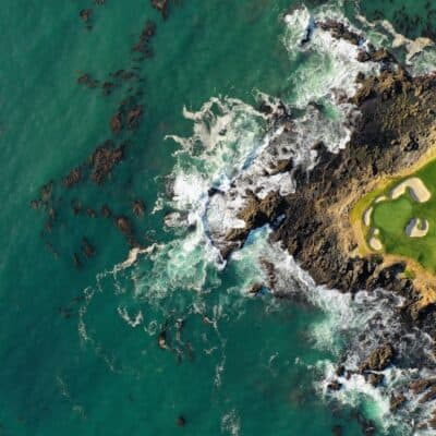 one of the golf courses in hawaii